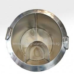 3 Compartment Soup Pot