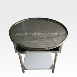 Stainless Steel Round Hot Plate