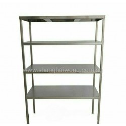 Stainless Steel 4 Tier Storage Rack