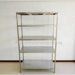 Stainless Steel 5 Tier Storage Rack