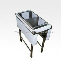 Stainless Steel Mee Rinse Cabinet