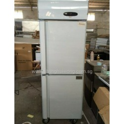 Stainless Steel 2 Door Chiller & Freezer