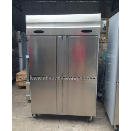 Stainless Steel 4 Door Chiller & Freezer