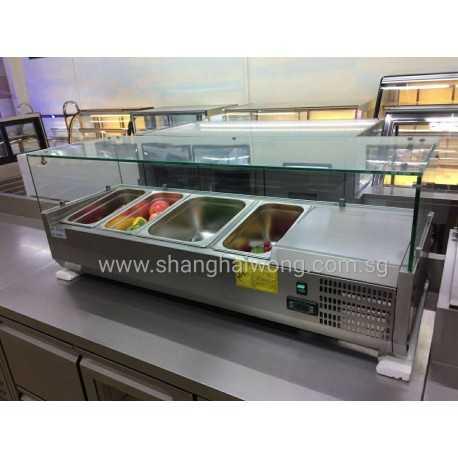 Salad Bar Display Showcase