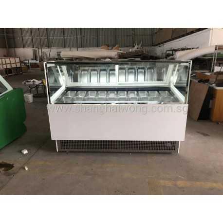 Ice Cream Freezer Display Showcase